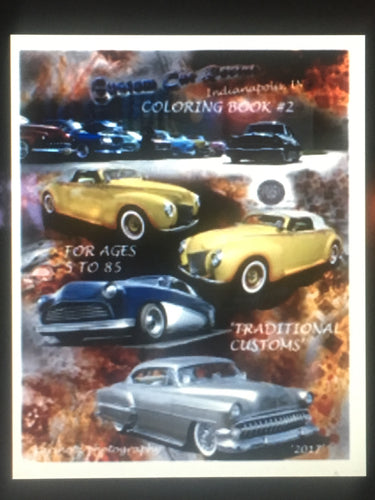 Custom Car Revival Coloring Book #2