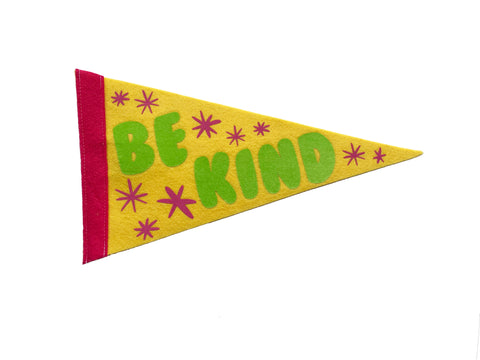 Be Kind Medium Pennant