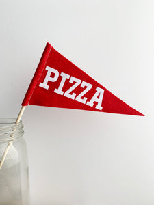 Pizza Mini Pennant