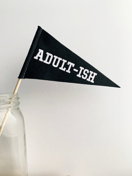 Adult-ish Mini Pennant