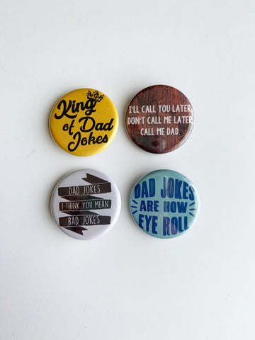 Dad Joke Pin Pack