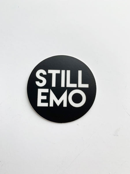 Still Emo Sticker