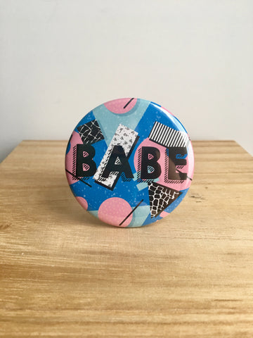 Babe Pin or Magnet