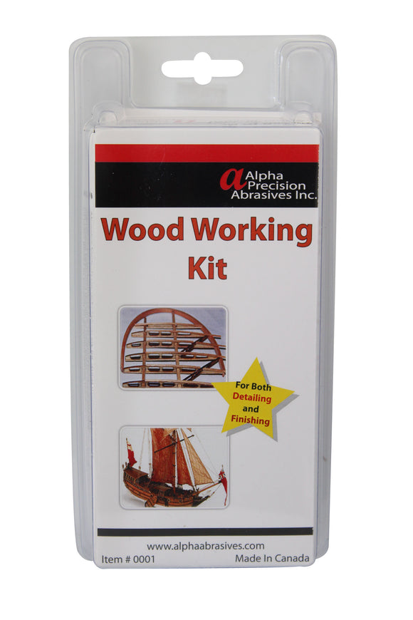 Wood Working & Finishing Kit