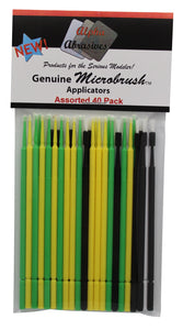Brush - Micro - Assorted -40 Pack