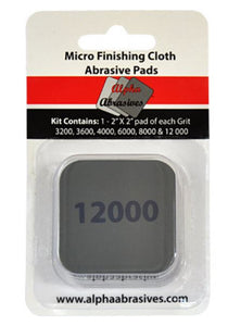 Finishing Cloth - Micro Abrasive Pads - Assorted