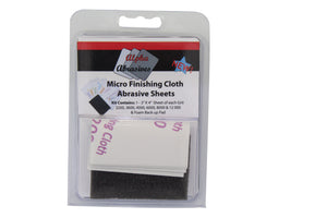 Finishing Cloth - Micro Abrasive Pads - Assorted - 6 Pack