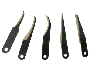 Blade - 5 Piece Assorted Wood Carving Blades