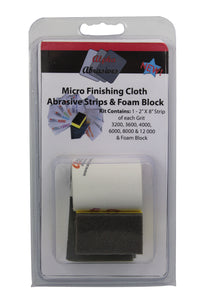 Finishing Cloth - Micro Abrasive Strips
