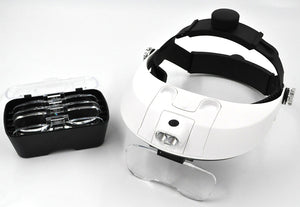 Magnifier - 2 LED Head Wearing