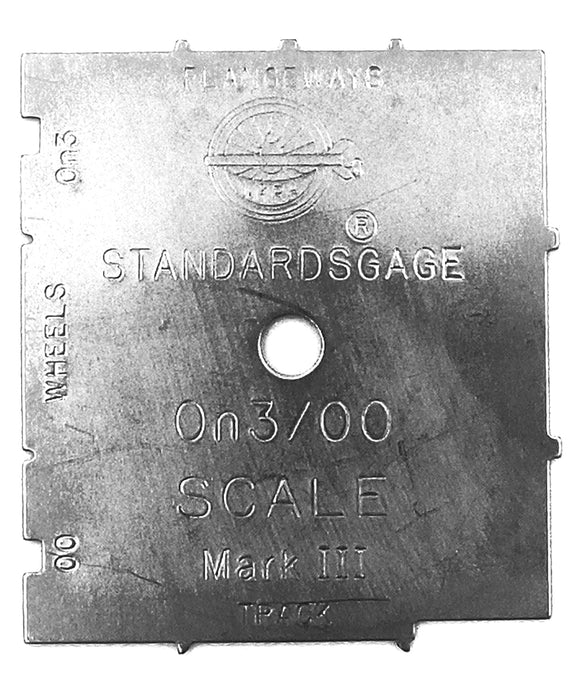 NMRA Standards Gauge - OO/On3 Scale