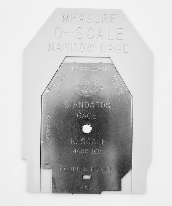 NMRA Standards Gauge - On30 Scale