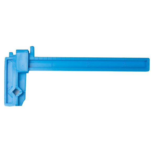 Small Adjustable Plastic Clamp - 3