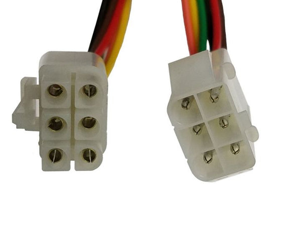 6 Pin Multi-Pin Round Connector