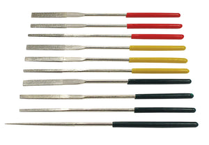 Files - 10PC Tapered Diamond Needle File Set