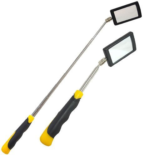 Telescopic Inspection Mirror - Rectangular