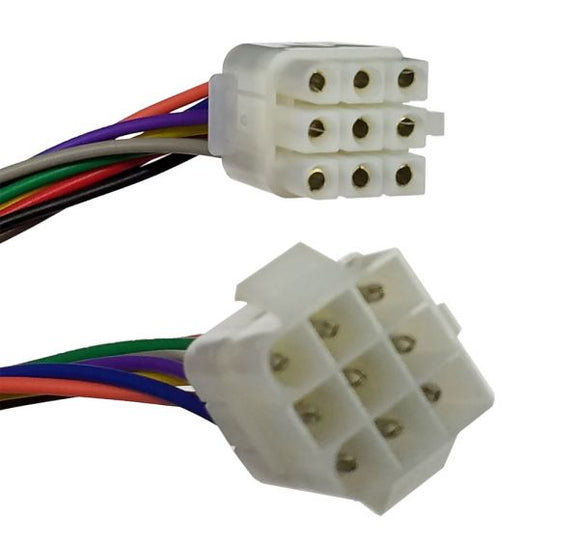Connector - 9 Pin Multi-Pin Round