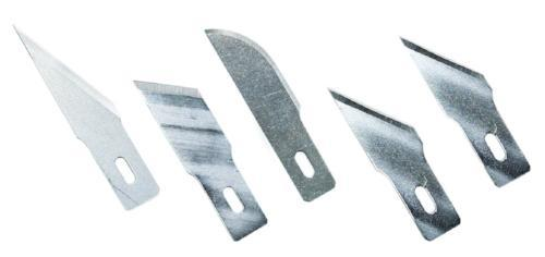Assorted Heavy Duty Blades - 5 Pieces