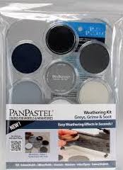 Paint - Weathering Kit - Grey, Grime & Soot