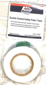 Tape - Double Coated Hobby Foam Tape