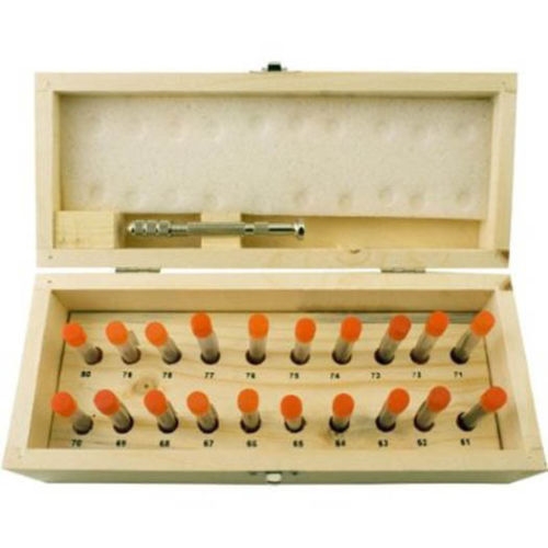 100 Piece Mini Drill Bit Set & Pin Vise