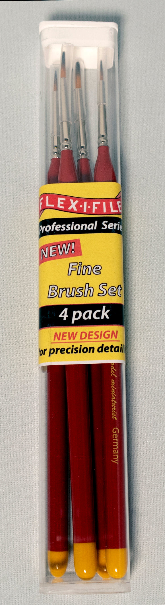 Brush - Flex-I-File - Fine - 4 Pack
