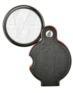 "Magnifier - 5x 1 1/2"" Folding Pocket Magnifier"