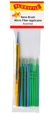 Brush - Nano - 18 Assorted - with Applicator Handle