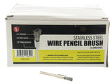 Brush - Stainless Steel Wire Pencil Brush