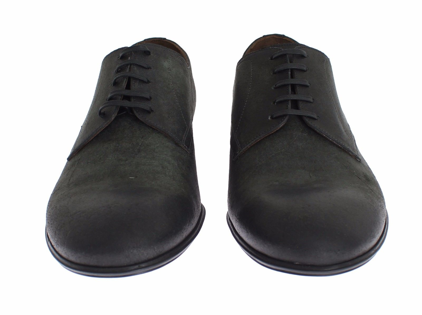 baef4433a16 Mens Green Leather Dress Formal Derby Shoes