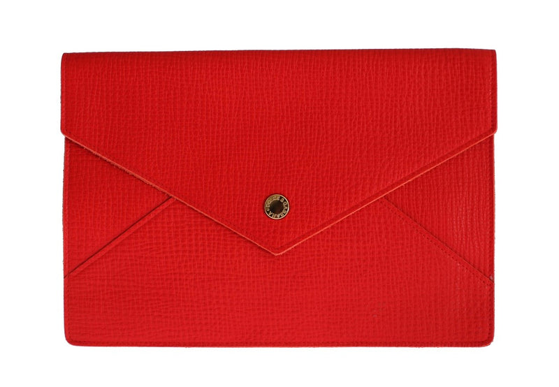 5245ab089f Red Leather Clutch eBook Cover Clutch
