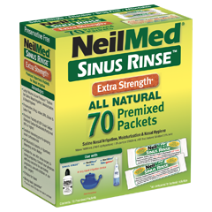 Sinus Rinse 70 Extra Strength Hypertonic Packets