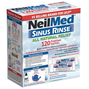 Sinus Rinse 120 Regular Premixed Packets