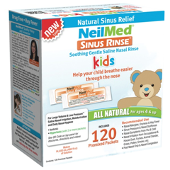 Sinus Rinse Pediatric 120 Packets