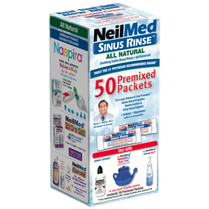 Sinus Rinse 50 Regular Premixed Packets
