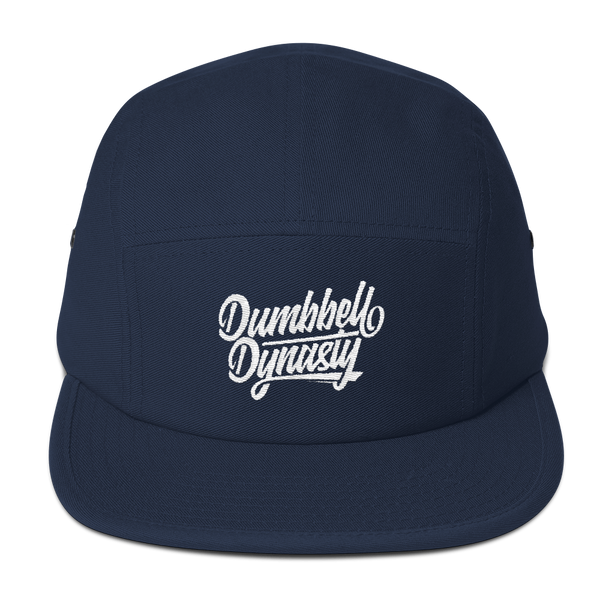 Amp Five Panel Cap - Dumbbell Dynasty