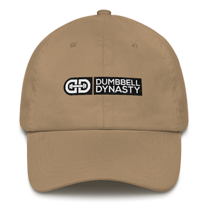 Classic Dad Hat - Dumbbell Dynasty