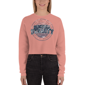United x Navy Crop Sweatshirt