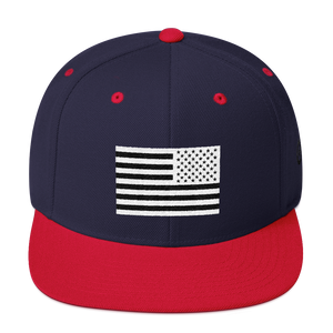 USA x Signature Snapback - Dumbbell Dynasty