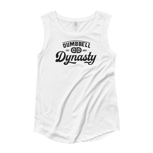 ELITE CAP SLEEVE TEE - Dumbbell Dynasty