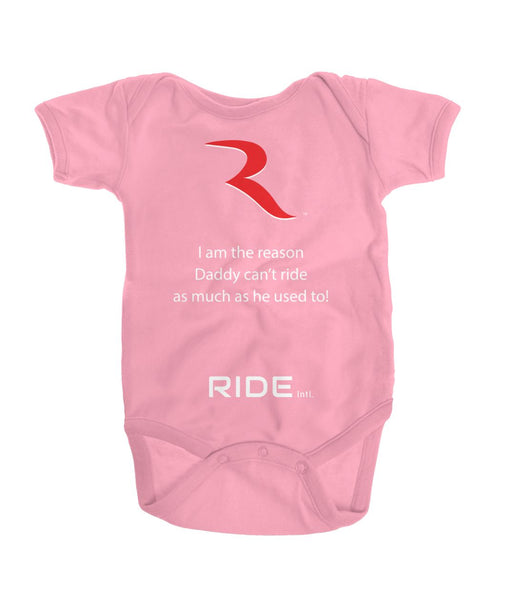 Daddy Can't Go Premium Onesie – RIDE International