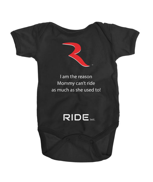 Mommy Can't Go Premium Onesie – RIDE International Apparel