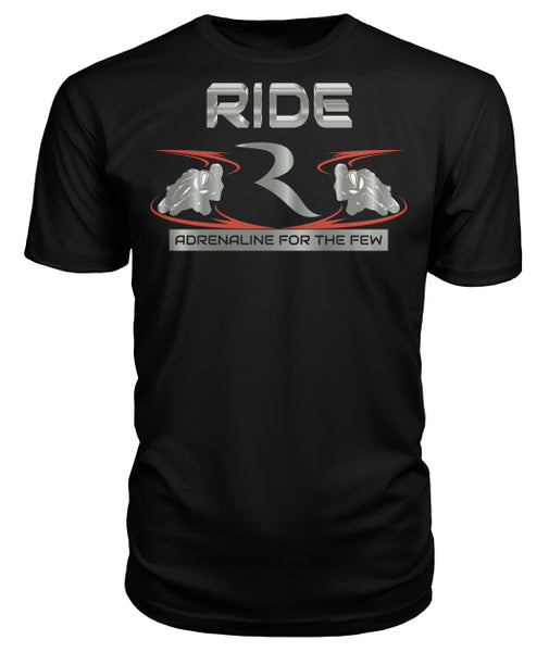 Adrenaline For The Few Premium T-Shirt – RIDE International Apparel