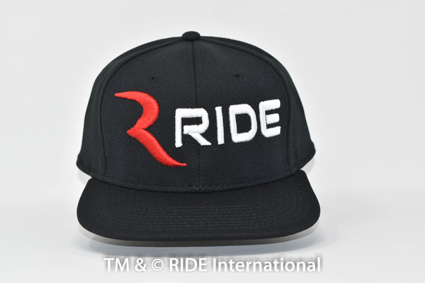 Classic Logo Black (Cool Comfort-Snap Back) Hat – RIDE International Apparel