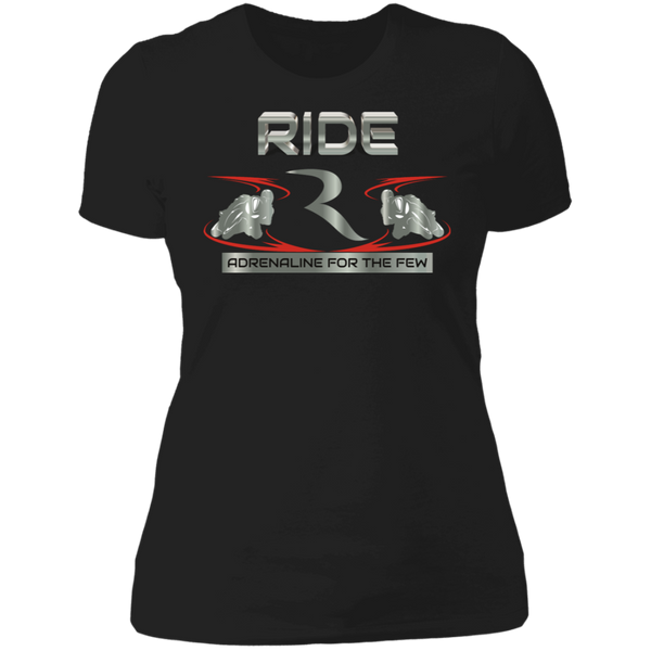 Adrenaline For The Few Women's Premium Semi-Fitted T-Shirt – RIDE International Apparel
