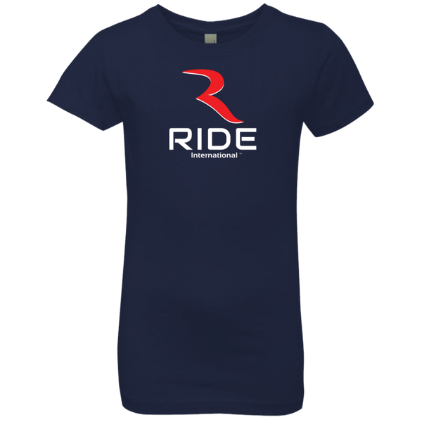 Original Logo Girl's Princess Premium T-Shirt – RIDE International Apparel