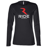 Original Logo Women's Premium Long Sleeve & Semi-Fitted – RIDE International Apparel