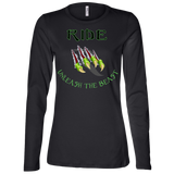 Unleash The Beast Women's Premium Slimmer Long Sleeve Shirt – RIDE International Apparel