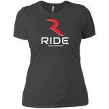 Original Logo Women's Premium Semi-Fitted T-Shirt – RIDE International Apparel