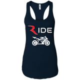 GP 1 Women's Premium Racerback Tank – RIDE International Apparel
